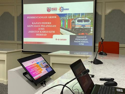IPSAS PRESENTS FINAL REPORT ON THE CUSTOMER SATISFACTION INDEX SURVEY FOR KTM BERHAD CARGO DEPARTMENT
